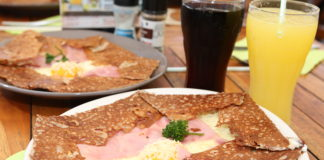 ham and cheese crepes recipe